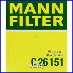 Mann-filter Set Air Intérieur Huile Carburant pour BMW 5er E39 535i 540i Touring