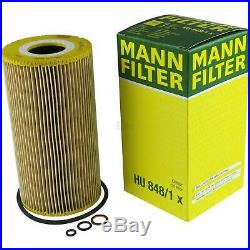 Mann-filter Set Air Intérieur Huile pour BMW 5er E39 525td 525tds Touring