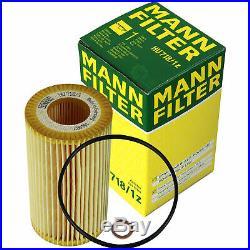 Mann-filter Set Filtre à Air D'Habitacle à Huile pour BMW 5er Touring E39 52