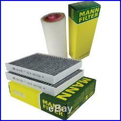 Mann-filter Set Filtre à Air D'Habitacle pour BMW 5er E39 525d 530d Touring