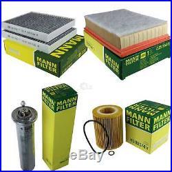 Mann-filter Set pour BMW 5er E39 520i 525i 530i Touring 10226011