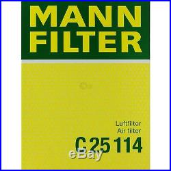 Mann-filter Set pour BMW 5er E39 530i 520i 525i Touring 9731866