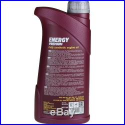 Mannol 6L Energy Premium 5W-30 + Mann-Filter Filtre pour BMW 5er Touring E39 5