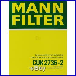 Mannol 7L Energy Premium 5W-30 + Mann-Filter Filtre BMW Série 5 Touring E39 525i