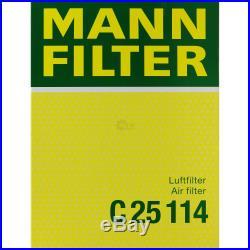 Mannol 7L Energy Premium 5W-30 + Mann-Filter Filtre Set BMW Série 5 Touring E39