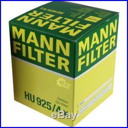 Mannol 7L Energy Premium 5W-30 + Mann-Filter Filtre pour BMW Série 5 Touring E39