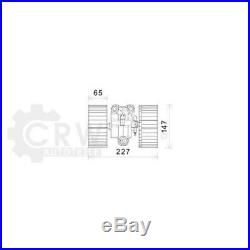 Moteur Électrique Ventilateur Intérieur Pour BMW 5er E39 Touring X5 E53