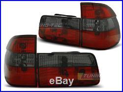 NEUF! Feux arrières pour BMW E39 1995-2000 TOURING Rouge Fumée FR LTBM30EI XINO