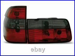 OFFER Tail Lights BMW E39 95-00 TOURING Red Smoke FR LTBM30EL XINO FR