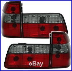 OFFER Tail Lights BMW E39 95-00 TOURING Red Smoke FR LTBM30ES XINO