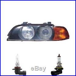Phare Halogène Droite HB3/HB4 Pour BMW 5er Touring Inclus Lampes