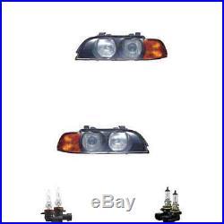 Phare Halogène Kit HB3/HB4 pour BMW 5er Touring Inclus Lampes