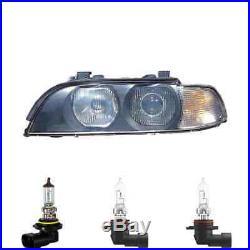 Phare Halogène à gauche HB4/HB3 pour BMW 5er Touring Inclus Lampes