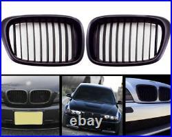 Pour BMW E39 Calandre Naseaux Avant Sport Grille Touring Noir 95-2004 5er M5