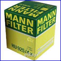 Pour BMW Huile Moteur 10l Mann Filtre à Hu 925/4 X 3er Touring E36 E46 Cabriolet