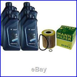 Pour BMW Huile Moteur 8l Mann Filtre Hu 818 X 3er Touring E46 X5 E53 5er E39 E38