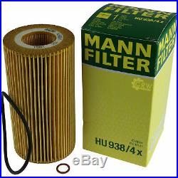 Pour BMW Huile Moteur 8l Mann Filtre Hu 938/4 X Z8 E52 7er E32 E38 5er Touring