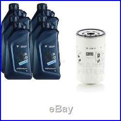 Pour BMW Huile Moteur 8l Mann Filtre à W 1168/6 3er Touring E36 F31 E91 X3 F25