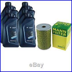 Pour BMW Huile moteur 8l MANN Filtre à huile H 932/2 5er Touring F11 E34 E39 1