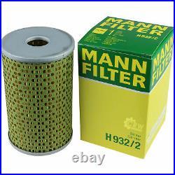Pour BMW huile moteur 4l Mann Filtre à H 932/2 5er Touring E34 E39 F11 2 Coupé