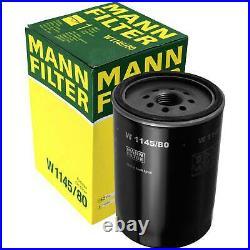 Pour BMW huile moteur 4l Mann Filtre à W 1145/80 5er Touring E61 F11 E39 3er