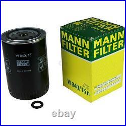 Pour BMW huile moteur 4l Mann Filtre à W 940/15 N Z3 Coupé E36 3er Touring E30