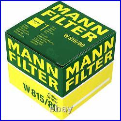 Pour BMW huile moteur 7l Mann Filtre à W 815/80 6er E63 5er Touring E61 E39 F11