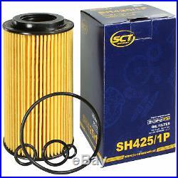 Pour BMW huile moteur 7l Sct Filtre Sh 425/1 P 3er E46 Touring Compact 5er E39