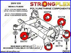 Rear Beam Mounting Bush Kit E39 Touring 036191b M-9254 Bmw E39 Touring