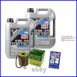 Révision D'Filtre LIQUI MOLY Huile 10L 5W-30 Pour BMW 5er Touring E39
