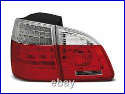 Rouge Blanc LED Feux Arrière Pour BMW E61 04-07 Touring