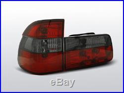 Rückleuchten für BMW E39 1995-2000 TOURING Rot Smoke FR LTBM30E1 XINO FR
