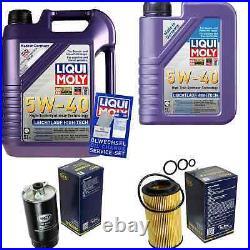 Sketch D'Inspection Filtre Huile Liqui Moly Huile 6L 5W-40 Pour BMW 5er Touring