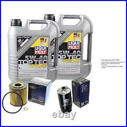 Sketch D'Inspection Filtre Liqui Moly Huile 10L 5W-40 Pour BMW 5er Touring