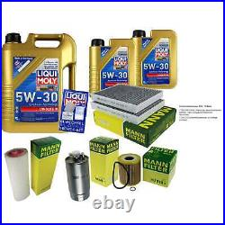 Sketch D'Inspection Filtre Liqui Moly Huile 7L 5W-30 Pour BMW Série 5er Touring