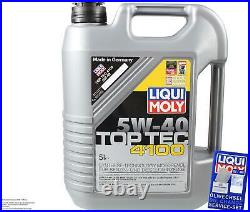Sketch D'Inspection Filtre Liqui Moly Huile 7L 5W-40 Pour BMW 5er Touring