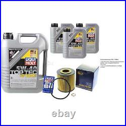 Sketch D'Inspection Filtre Liqui Moly Huile 8L 5W-40 Pour BMW 5er Touring