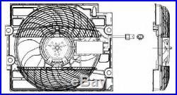 Tout Neuf Radiateur Ventilateur pour BMW 5 Touring (E39) 530 I 2000-2004