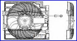 Tout Neuf Radiateur Ventilateur pour BMW 5 Touring (E39) 540 I 1997-2004