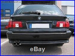 Tuyau D'Échappement de Sport Eisenmann Race-Version BMW E39 Touring 540i Avec