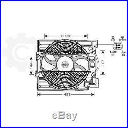 Ventilateur Refroidissement Moteur de Radiateur pour BMW 5er Touring