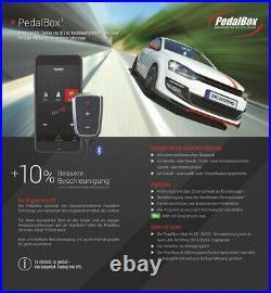 Villes Pedal Box Plus avec De App-Steuerung Pour BMW 5 Touring (E39)