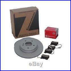 Zimmermann Disques De Frein + Plaquettes Avant Bmw E39 + Touring 520 530 540