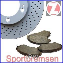 plaquettes de freins arrière BMW e39 520 523 525 Zimmermann Disques de frein 298mm